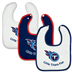 Tennesee Titans - Baby Bib - 3 Pc Set